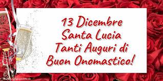 santa lucia onomastico  onomastico lucia onomastico 13 dicembre