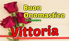 santa vittoria onomastico 23 dicembre