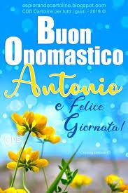 onomastico 19 gennaio onomastico sant'antonio onomastico sant'antonio abate
