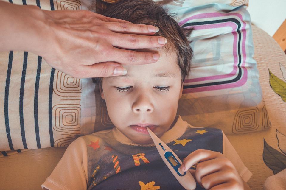febbre alta nei bambini