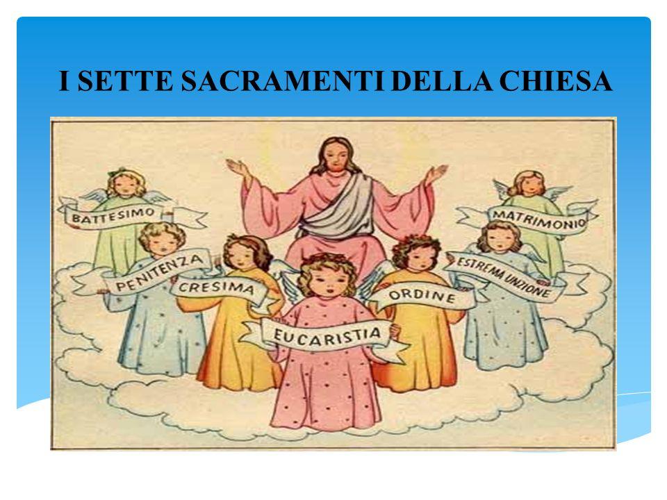 come spiegare i sacramenti ai bambini