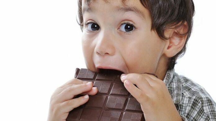 cioccolato ai bambini