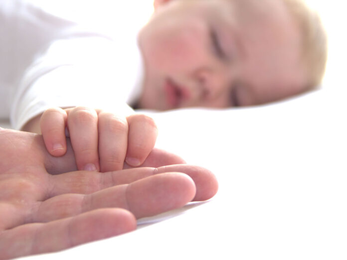 unghie del neonato