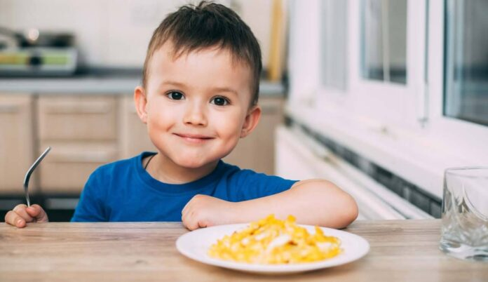 uova nell'alimentazione del bambino