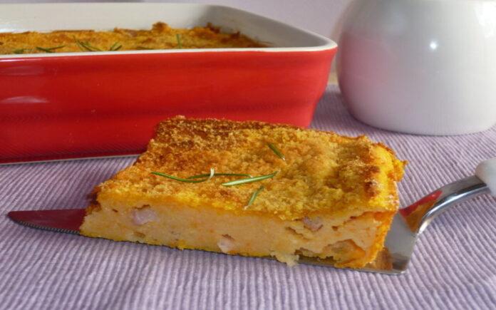 tortino di patate e zucca